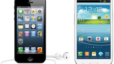 Photo of iPhone 5 vs Samsung Galaxy S3 – qual è il migliore ?