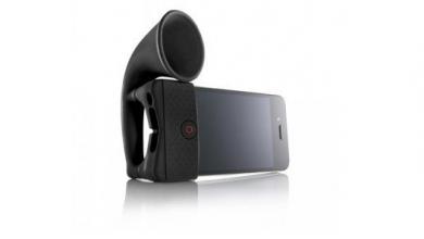 Photo of Horn Stand, trasforma il tuo iPhone in un grammofono