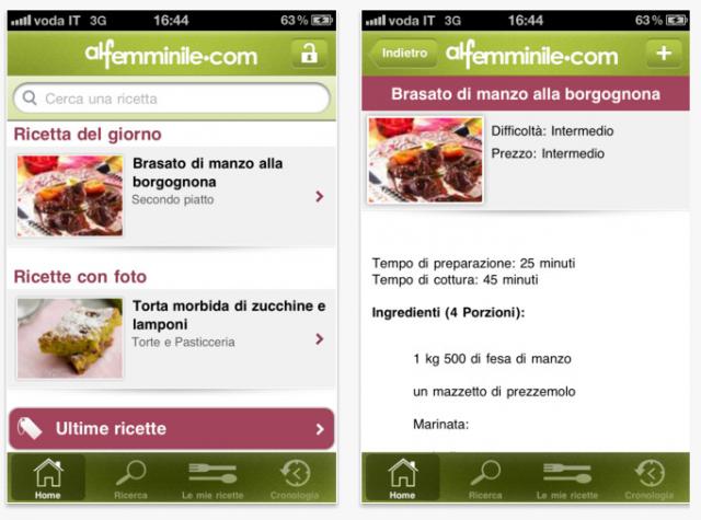 Cucina al femminile porta in tavola una nuova app per rivoluzionare ...