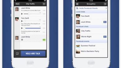 Photo of Trasforma il tuo iPhone di un Walkie Talkie con Facebook e GroupVox