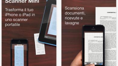 Photo of Applicazione Scanner Mini e scansioni tutto ciò che vuoi direttamente dal tuo iPhone