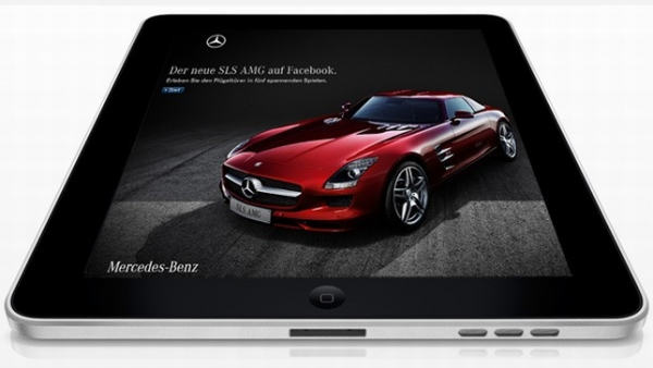 Mercedes benz accessori integrati marcati apple for Mercedes benz ontario phone number