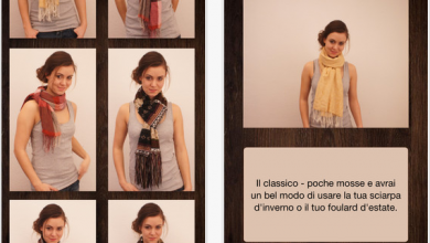 Photo of Stili foulard – Nuova app per imparare come mettere la sciarpa
