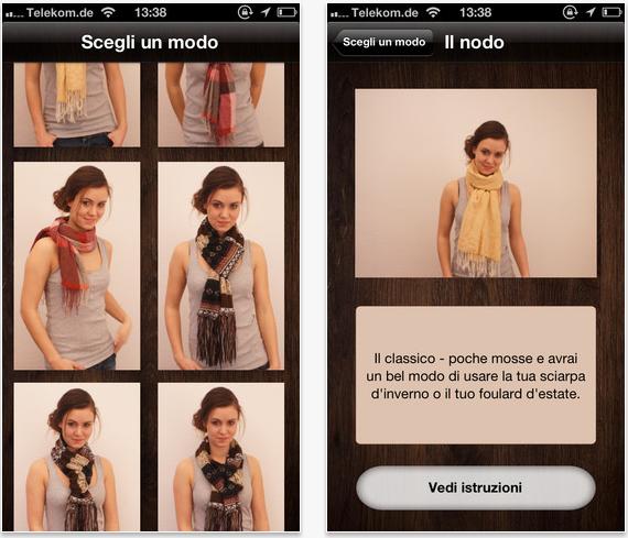 Stili foulard App