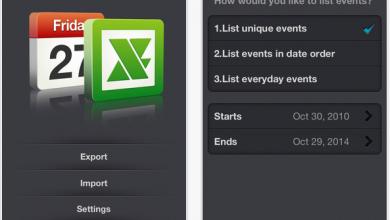 Photo of xCalendar, un'utility per iPhone