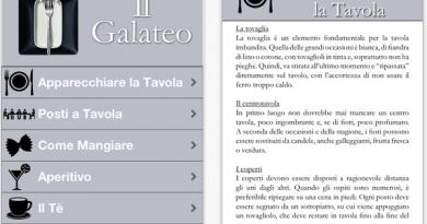 Galateo Quiz Iphone App