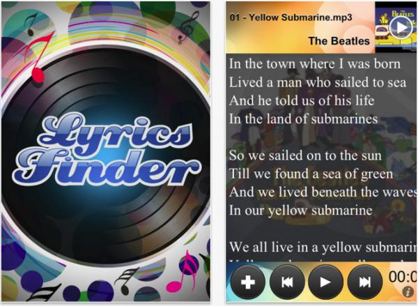 Lyrics Finder App