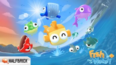 Photo of Fish Out of Water! disponibile in AppStore!
