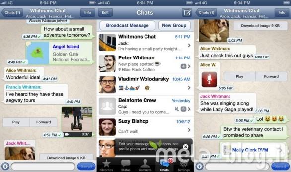 Contatti Whatsapp
