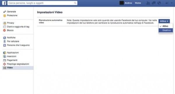 avvio video facebook