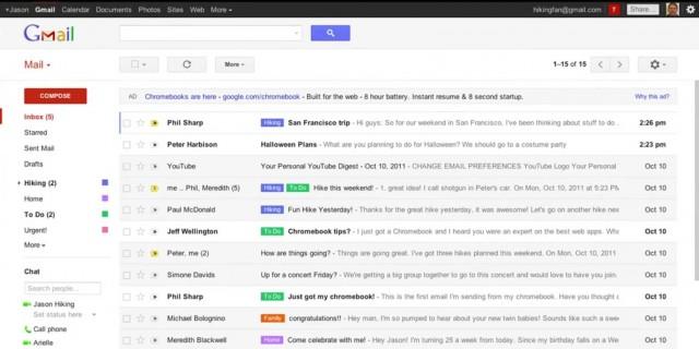 filtri gmail