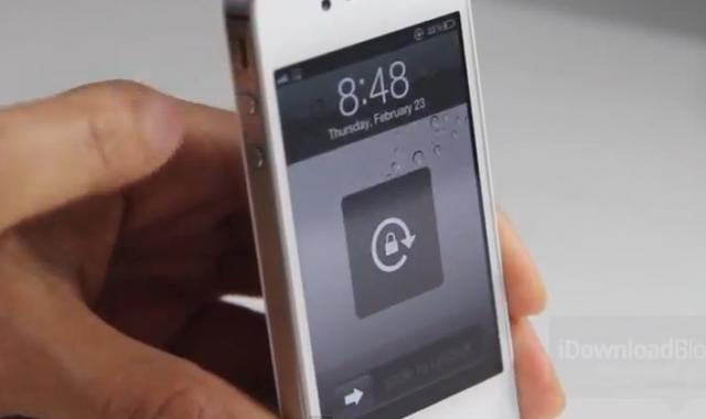 rotazione schermo iphone