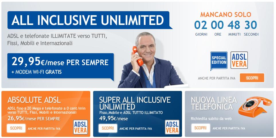 migliore tariffa telefono fisso e internet