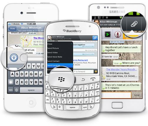 inviare whatsapp