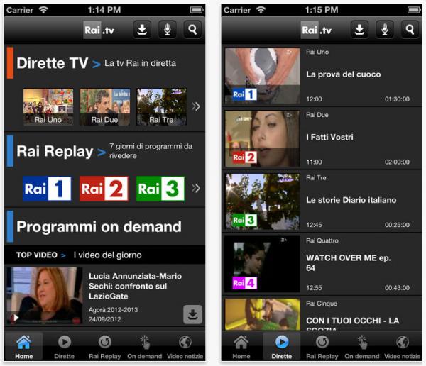 App per vedere i mondiali brasile in streaming per ios e for App per vedere telecamere su android